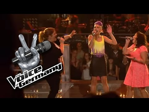Simply the Best - Tina Turner | Nicole vs Andrea vs Rebecca | The Voice of Germany 2015 | Battles