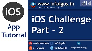 Challange for iOS App Part 2 - Tutorial 2