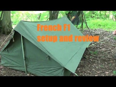 French F1 Tent Review And Setup