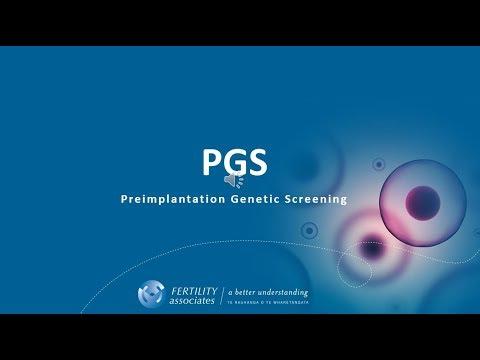 Pre-implantation Genetic Screening 'PGS' During IVF