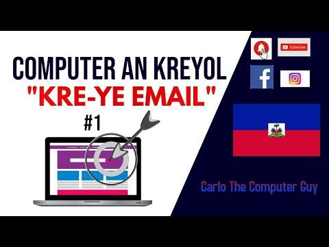 internet-an-kreyol---kreye-email-account-#1