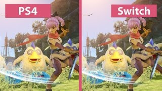 Dragon Quest Heroes 2 – PS4 vs. Nintendo Switch Docked Graphics Comparison Demo
