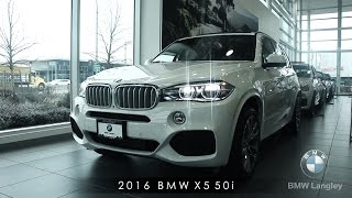 2016 bmw x5 xdrive 50i review interior exterior walkaround