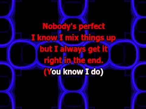 Nobody's Perfect - Hannah Montana (Karaoke)