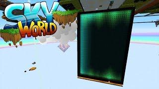 Reaktor wird eingeschaltet! Wird es laggen? - Minecraft SKY WORLD #24