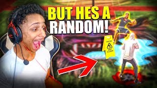 I pretended to be a random and tried out for the #1 crew in NBA 2K20