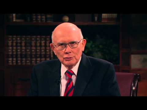 What Needs to Change by Elder Dallin H. Oaks