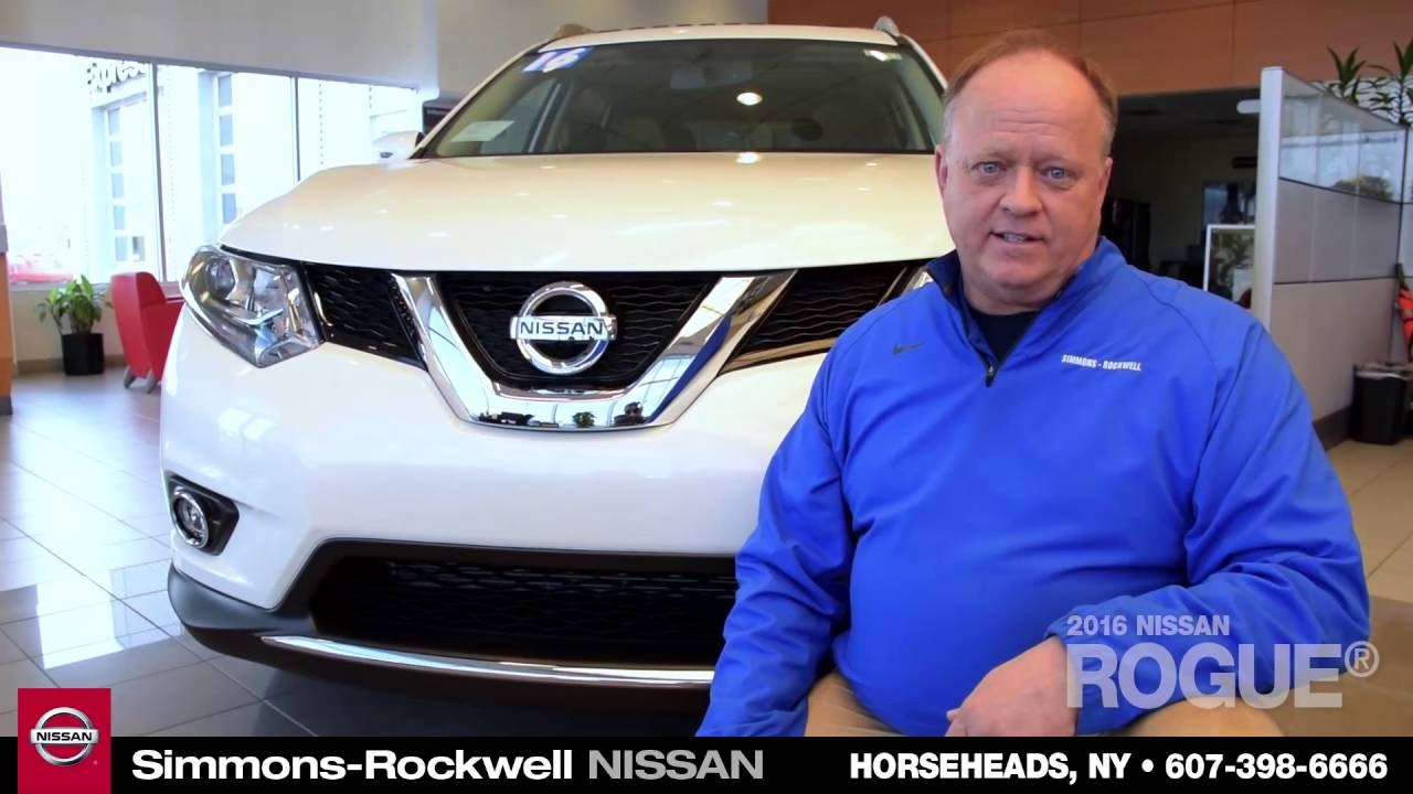 Simmons Rockwell Nissan >> 2016 Nissan Rogue Introduced By Jeff Magnusen