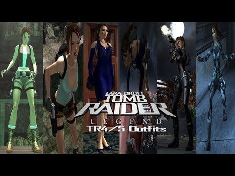 Tomb Raider 7: Modding Showcase-TR4/5 Outfits Packs