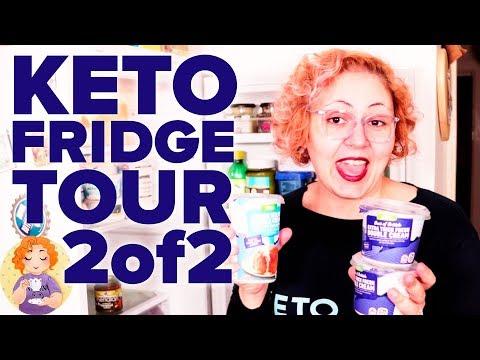 What to eat on Keto Fridge Tour Grocery Food Haul Shopping List UK 2/2 Keto Snacks Cheese UK