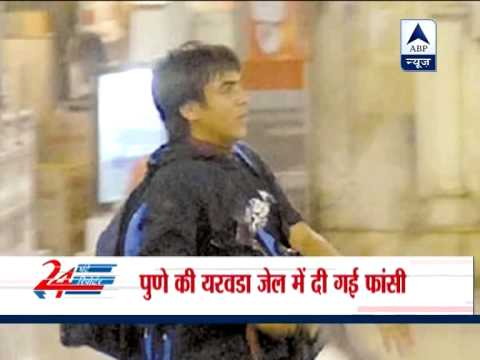 Kasab hanged, buried inside Pune`s Yerwada Jail