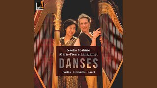 Play Spanish Dances No. 5, Andaluza - Arr. for 2 Harps