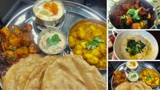Indian Special Dinner For Dussehra / Special Raita Recipe / Ami's Lifestyle