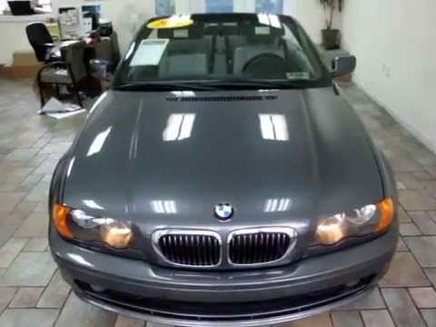 2001 Bmw 325ci Soft Top Convertible Blue On Grey Youtube