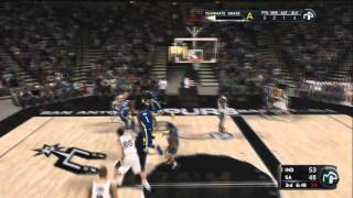 NBA 2K11 - My Player - Wally's 1st Official NBA Game