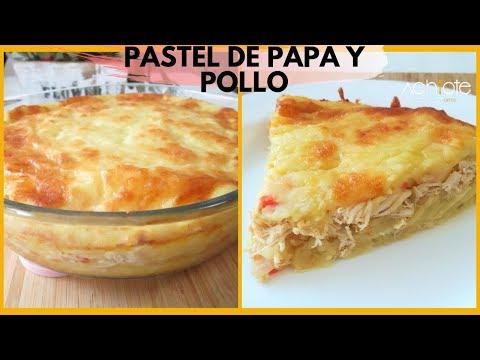 PASTEL DE PAPA o PATATA Y POLLO | Una receta fácil, con ingredientes sencillos y llena de Sabor!