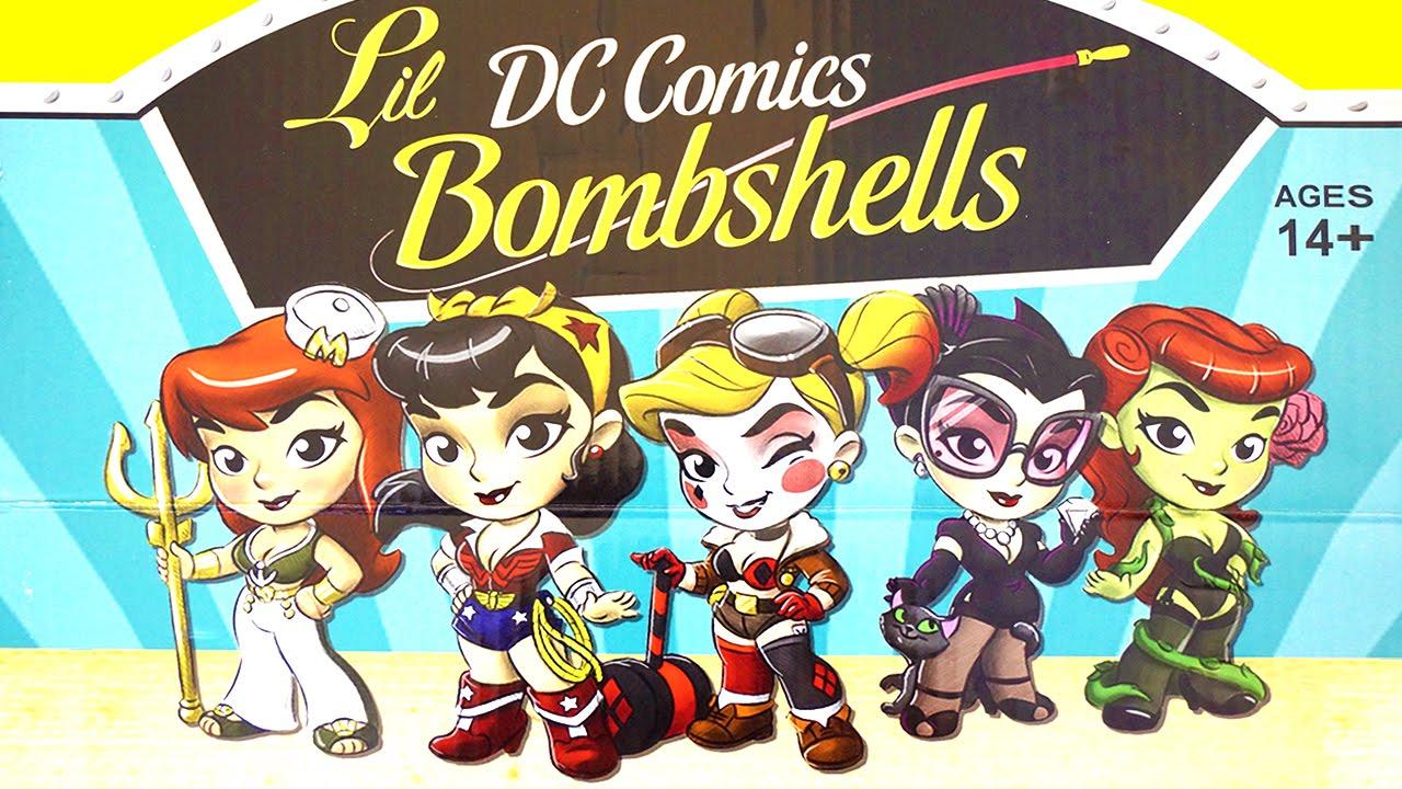 e42291698c Lil DC Comics Bombshells Surprise Blind Bags/Cans - Collectible ...