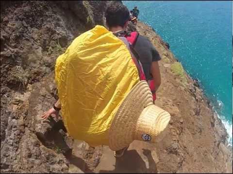 Kauai Na Pali Coast Cliffsides!