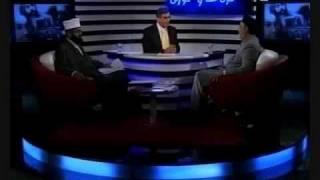 """الرد على فتاوى تكفير الأحمدية -1 برنامج """"بدون لف ودوران"""""""