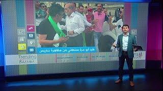 أبو جرة سلطاني يطرد من مظاهرة الجزائريين في باريس