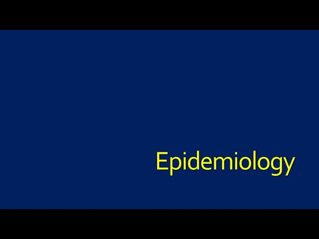 Epidemiology of C. difficile-Patient