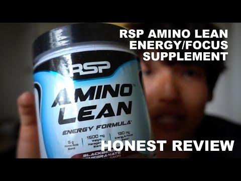 RSP Amino Lean Blackberry Pomegranate | HONEST Review