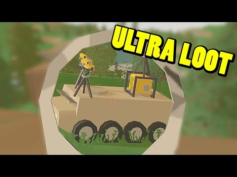 UNTURNED - ULTRA LOOT!!! (2º parte) | Gameplay Español