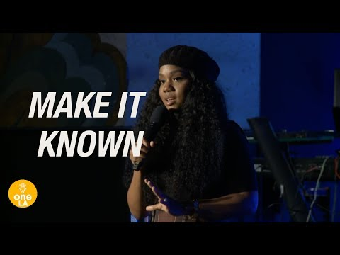 """Make it Known"" - Sarah Jakes Roberts"