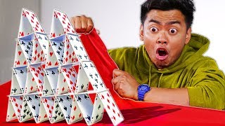 Tablecloth Trick Shots | Guava Perfect