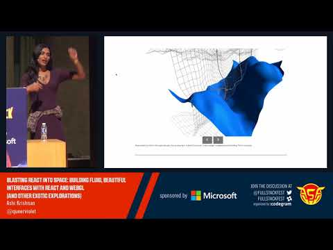 Blasting React into Space: Building fluid interface swith React and WebGL (Ashi Krishnan)