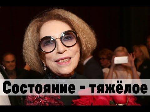 Бедная Чурикова страдает в реанимации. Тяжёлое состояние актрисы