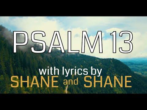 Psalm 13 by Shane & Shane (Lyric Video) | Christian Worship Music