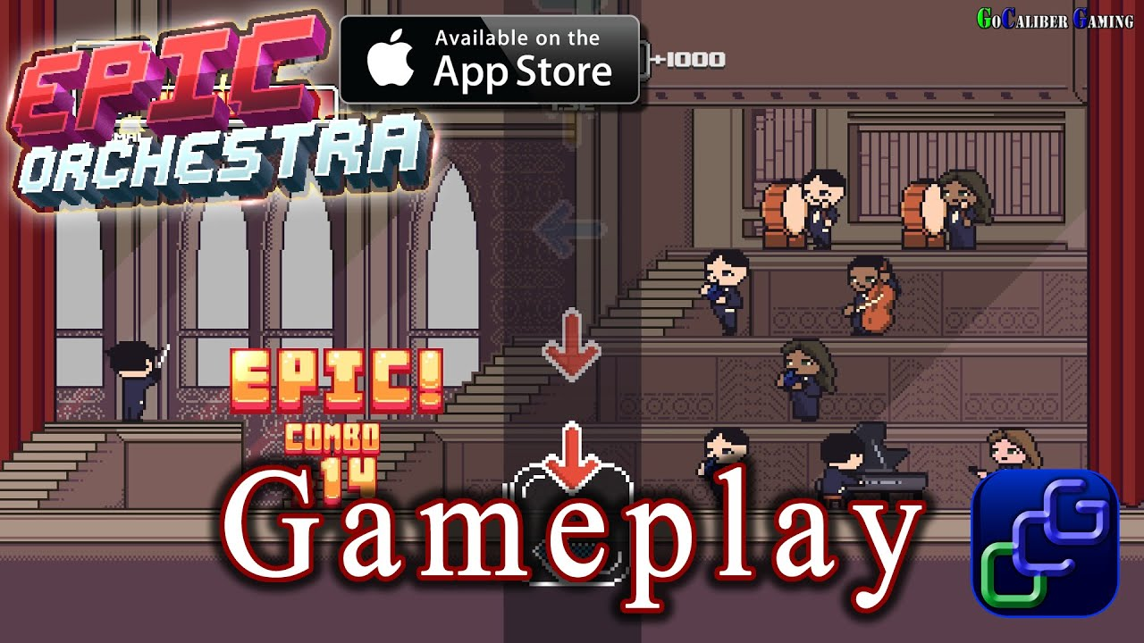 Epic Orchestra Apple TV Gameplay
