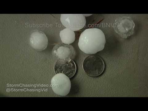 Clara City, MN Hail Storm - 7/4/2017
