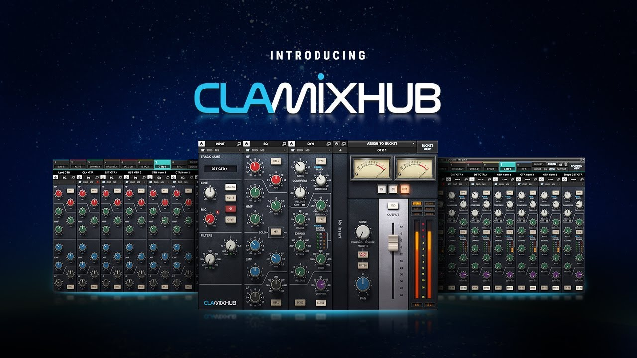 Exclusive Video Review Of Waves New CLA MixHub - Arrange