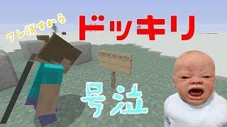 Minecraft#マイクラ#マインクラフト#ドッキリ ドッキリめっちゃ面白かっ...