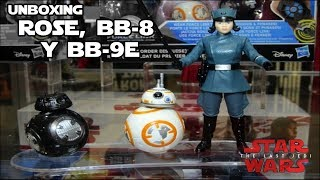 Triple Pack de Los ultimos Jedi Rose, BB-8 Y BB-9E - Star Wars thumbnail