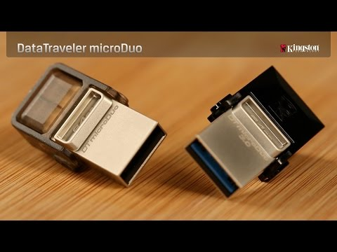 USB Flash Drive for Android - DataTraveler microDuo - Kingston Technology