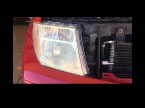 Remove Headlight Embly Nissan Frontier Pathfinder
