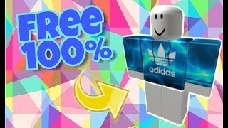 HOW TO MAKE ADIDAS SHIRT ON ROBLOX! FREE!!!!!!!!