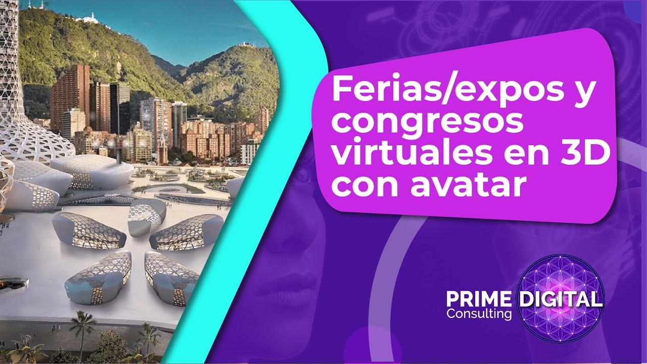 Ferias/expos y congresos 3D con avatar