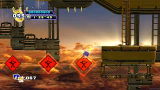 Sonic the Hedgehog 4: Episode 2 PS3 - [Part 4 ~ Sky Fortress Zone + Boss 4: Metal Carrier]