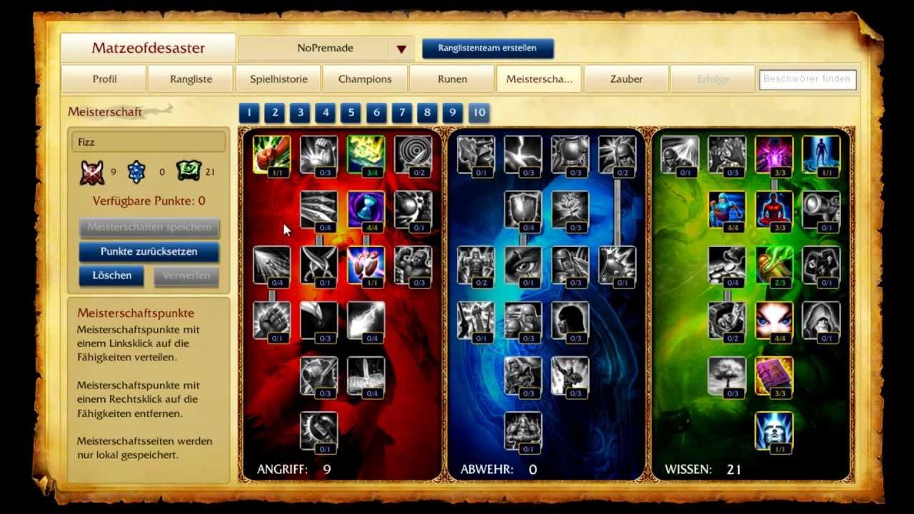 League Of Legends Fizz Guide German Hd Youtube