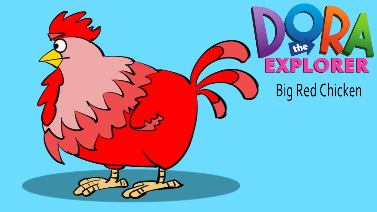 Uncategorized How To Draw Hen how to draw big red chicken dibujar gallina hen