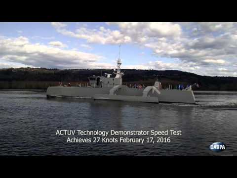 ACTUV Launch and On-Water Speed Tests