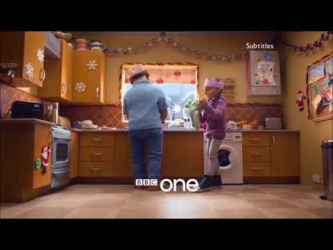 BBC One Christmas 2017 Ident - Kitchen - First Showing