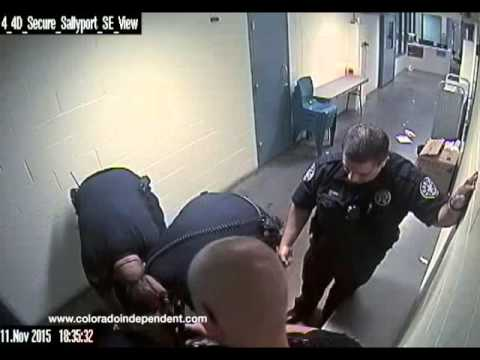 Michael Lee Marshall fatally restrained by deputies at the Denver jail.