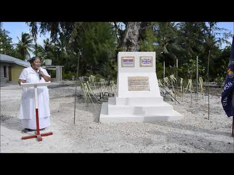 2018 Christmas Island memorial Ceremony