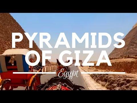 The Pyramids of Giza, Cairo, Egypt - Giza Necropolis - Egypt Pyramids and Great Sphinx of Giza