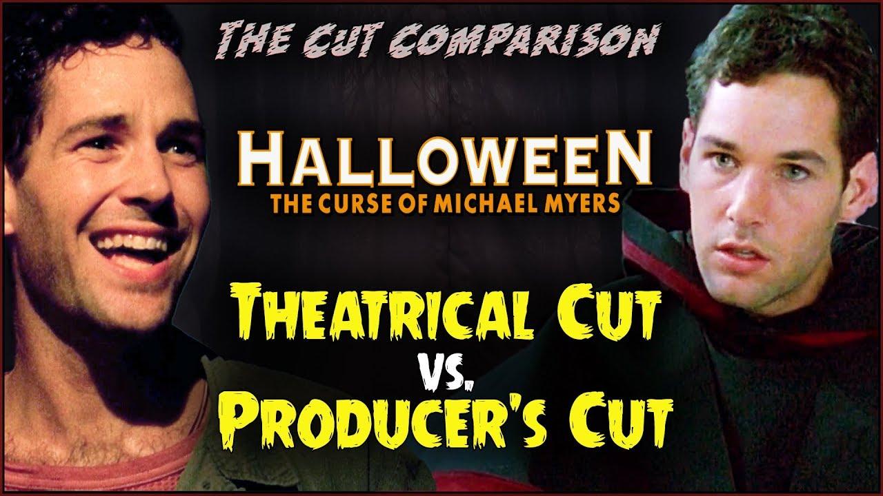 Superb Halloween: The Curse Of Michael Myers (1995) CUT COMPARISON